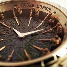 The abiding power and majesty of Arthurian myth is explored in the Roger Dubuis Excalibur Knights of the Round Table II. -- Follow: @empirenetworking4.0 Pic by: @revolution.watch