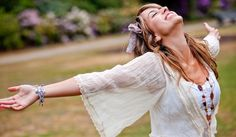 """It feels so good love yourself!  Just open your arms and say, """"Yes!""""  Let that love and light in!"""
