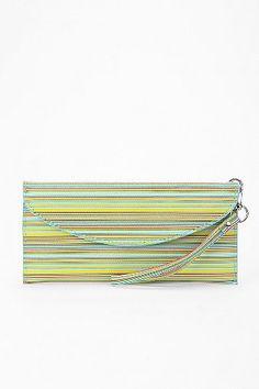 Cooperative Blended Stripe Checkbook Wallet