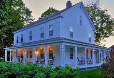 This dream-like Farmhouse has been featured on the instructional cooking television show Cook's Country TV. Anybody looking to take over the famous kitchen for themselves can do so by renting out the house via its AirBnB page.
