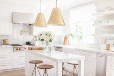 nicole davis interiors - chic kitchen on astral riles