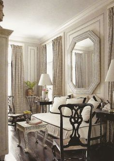 Check Out Best Interior Design by Thomas Britt. Thomas Britt is an icon of the interior design industry. For over 40 years, Thomas has contributed his sense of European classicism and vibrant sense of color to the field. Decor, House Design, Family Room, Decor Design, Furniture, Gorgeous Bed, Interior Design, Home Decor, House Interior