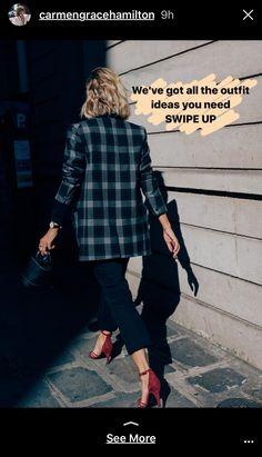 5090acd6f5c Adenorah on CHRONICLES OF HER Paris street style shot by Dan Roberts.  Wearing Isabel Marant blazer