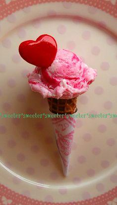 ★アイスクリーム2種分量/ダイソー樹脂粘土★ :: *sweeter* yaplog!(ヤプログ!)byGMO