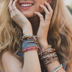 Wakamis #armband - snyggare ju fler du har! Och eftersom de är både prisvärda och schysst tillverkade, känns det bara bättre och bättre...
