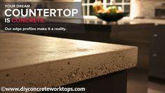 Concrete worktop solutions Europe | Counterform Distribution