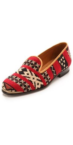 tapestry loafers