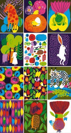 芸術の秋。アート気分を高めてくれる、女性イラストレーター&アーティスト