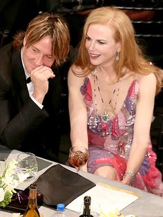 Keith Urban and Nicole Kidman Couldn't Keep Their Hands Off Each Other During the SAG Awards| Screen Actors Guild Awards 2016, Movies, Nicole Kidman, Individual Class, Grace Kelly