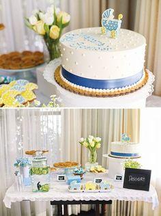 Endulza la fiesta con tartas de diseño - Comida para un Baby shower