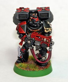 Matt Sterbenz Miniature Painting: Death Company finished, Dwarfs started, and a new Grey Knight.