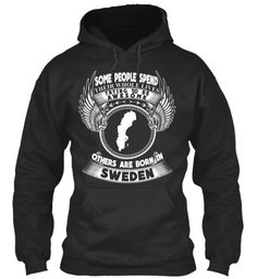 Born In Sweden Jet Black T-Shirt Front #SWEDEN #SWEDENHOODIES #SWEDENTSHIRTS #SWEDENTEES #LOVESWEDEN #COOLTSHIRTS #IWANTIT #SHIRT #LOVEIT #TRAVELSWEDEN #SWEDENTOUR #SWEDENGUY #SWEDENGIRLS