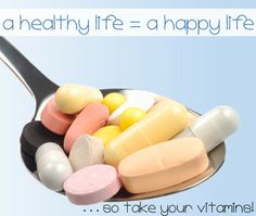 Take all my supplements every day!!