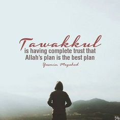 """..And Allah is The Best of Planners."" (Qur'an 3:54) #Bismillahirrahmanirraheem…"