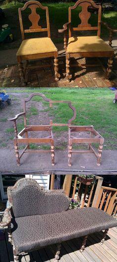 Kanapee meisterdamine vanadest toolidest