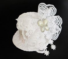 My  Wedding Hat Smile by AZSDesigns on Etsy