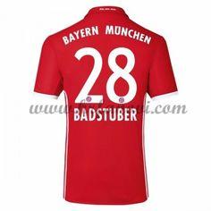 Bayern Munich Nogometni Dresovi 2016-17 Badstuber 28 Domaći Dres Komplet