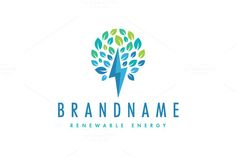 For sale. Only $29 - plant, tree, energy, leaf, life, idea, fast, growth, power, fund, spark, inspiration, support, creativity, lightning, storm, bolt, voltage, thunder, investing, speed, blue, green, renewable, garden, logo, design, template,