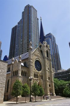 Cathederal Chicago, Illinois.