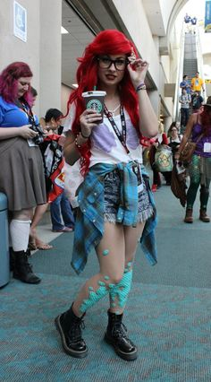 Pin for Later: We Can't Get Enough of the Creative Cosplays From Comic-Con 2016 Hipster Ariel