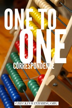 Understand the term one to one correspondence. Sample of IEP goal for one to one correspondence and how to teach it at home or in your classroom. Life Skills Classroom, Classroom Routines, Special Education Classroom, Math For Kids, Lessons For Kids, Math Lessons, Teaching Math, Teaching Resources, Second Grade Math
