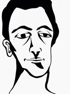 'Self-Portrait' by Rony.