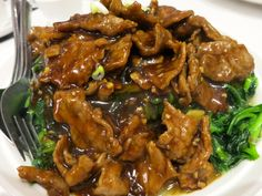 Beef in Oyster Sauce Recipe More
