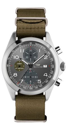 d6baa5702db3 New Glycine Watch Combat Chrono Collection in Joyería Cardell. masnomina · Relojes  hombre