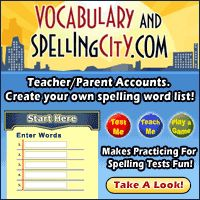 enter your spelling list and play games to learn the words...