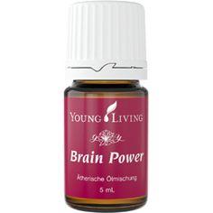 Brain Power™ enthält ätherische Öle, die reichhaltig Sesquiterpene (natürliche oxidierende Verbindungen) enthalten. Diese Mischung verbessert Gedankenklarheit und Konzentrationsfähigkeit.