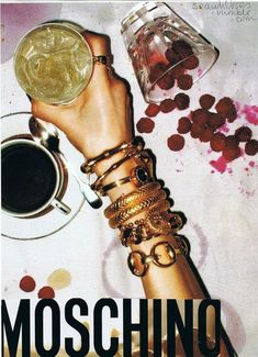 90s Moschino advertising campaign. #moschino #editorial #magazine ...