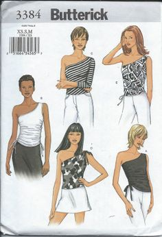 Knit Summer Tops... BUTTERICK 3384 Sewing by PatternsNew2U on Etsy, $6.50