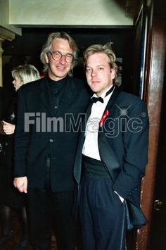 January 15, 1994 -- Alan Rickman and Kiefer Sutherland at the Cable Ace Awards.