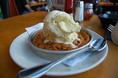 BJ's Famous Pizookie! -- Their Oreo one is the bomb!