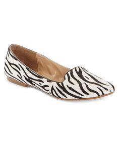 Nine West #shoes #flats #zebra #tuxedo #macys BUY NOW!