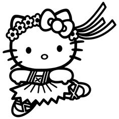 Hello Kitty Die Cut Vinyl Decal PV923 for Windows, Vehicle Windows, Vehicle Body Surfaces or just about any surface that is smooth and clean!