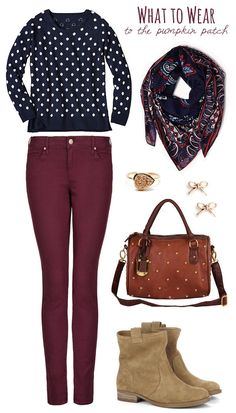 Fall Fashion: What to Wear to the Pumpkin Patch