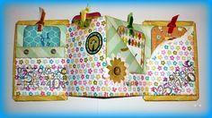 Scrapbooking, crea tus propios libros y cuadrenos de tela www.comohacerlo.org