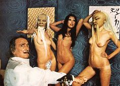 Rare NSFW Photos From Salvador Dali's Bizarre But Sexy Photoshoot For Playboy In 1973