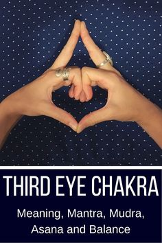 Learn all about the third eye chakra- how to identify imbalances and how to find balance with mantra, mudra, asana, color and Meditation For Health, Meditation Benefits, Meditation For Beginners, Meditation Techniques, Chakra Meditation, Healing Meditation, Third Eye Meditation, Mindfulness Meditation, Meditation Scripts