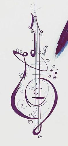 Trendy Tattoo Music Geometric Art 49 Ideas Trendy Tattoo Music Geometric Art 49 Ideas This image has get 259 Arte Cello, Cello Art, Guitar Art, Cello Tattoo, Tattoo Art, Trendy Tattoos, Unique Tattoos, Small Tattoos, Geometric Tattoo Music