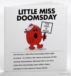 Neurotic Mr. Men and Little Miss Books