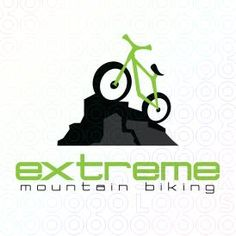 Creative Bicycle Mascot Logo Design For Sale On StockLogos | Extreme Mountain Biking logo