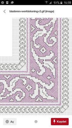 Manuela Barrera's media content and analytics Blackwork Patterns, Blackwork Embroidery, Cross Stitch Embroidery, Embroidery Patterns, Crochet Patterns, Cross Stitch Charts, Cross Stitch Patterns, Crafty Craft, Le Point