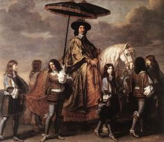 History of the World - Chancellor Sequier 1660 by Charles le Brun