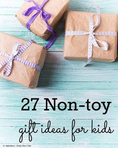 Need an exciting birthday gift for a kid but don't want to add to the clutter in the house? You'll find plenty of creative and fun gift ideas that all boys or girls will enjoy without adding more toys to the family.