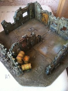 Sump City by Shibboleth - 40k industrial ruin