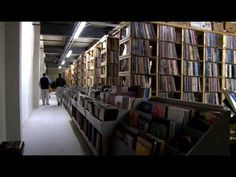 Paul Mawhinney owns the worlds largest vinyl record collection called 'The Archive'. Record-Rama