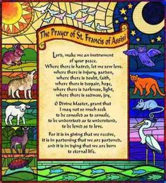 Prayer Of St. Francis Tapestry