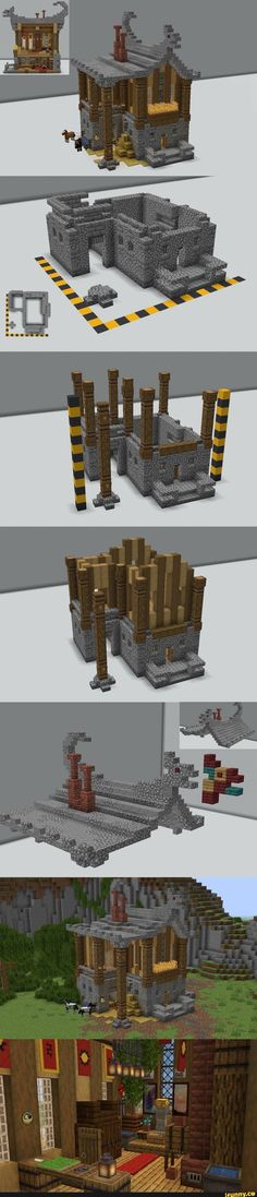 Minecraft Building Guide, Minecraft Houses Survival, Cute Minecraft Houses, Minecraft House Tutorials, Minecraft Castle, Minecraft Room, Minecraft Plans, Minecraft House Designs, Amazing Minecraft